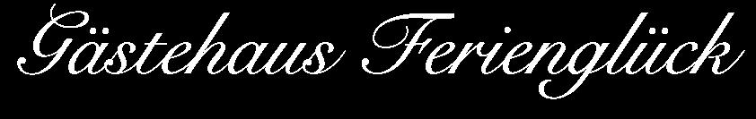 Gästehaus Ferienglück Fischbachau Logo